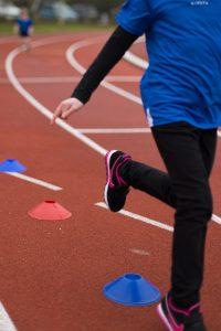 Atletiek trainingsmateriaal en eerste training