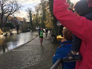 Michiel wint de Ronde Venen Marathon
