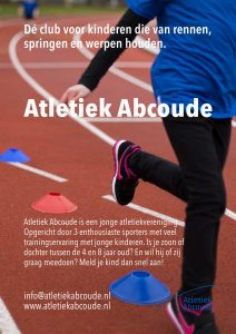 Poster Atletiek Abcoude