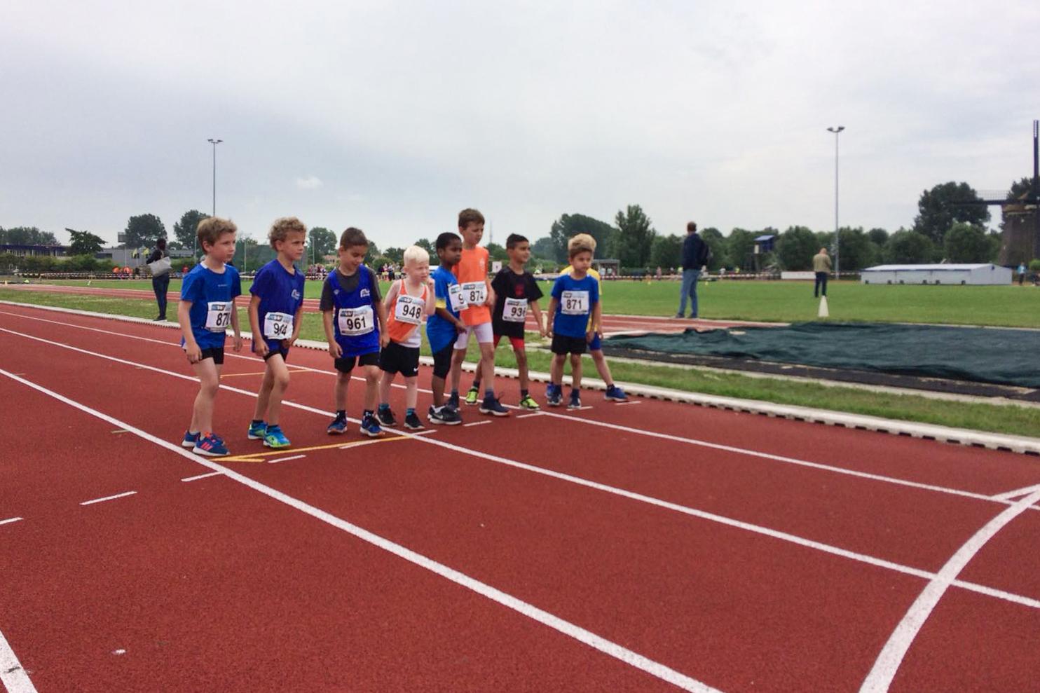 Start 600 meter voor jongens